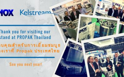 Thankyou for visiting our stand at Propak Asia