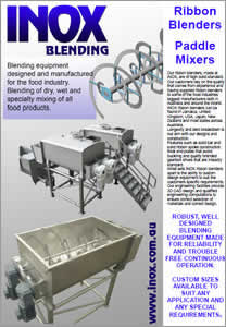 INOX Ribbon Blenders & Auger Feed Hoppers