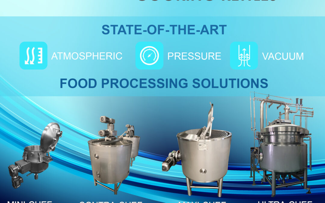 The 'Chef' Range of Food Processing Cooking Kettles